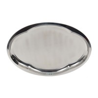 Tava ovala pentru servire, din inox, 412, 26 x 19.5 x 2 cm