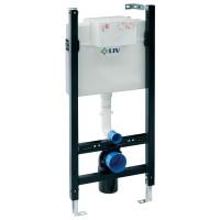 Rezervor apa, incastrat, Liv Fix Eco, 9 L, 50 x 113 cm