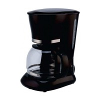 Cafetiera Studio Casa Blackline Family CM1019B Savor, 800 W, 1.5 litri, capacitate 10 cesti, functie antipicurare, oprire automata, negru