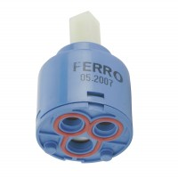 Cartus ceramic pentru baterie monocomanda, Ferro G08W, 35 mm