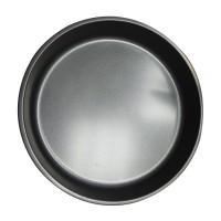 Tava rotunda pentru copt, otel, antiaderenta, gri, 28 x 4.5 cm