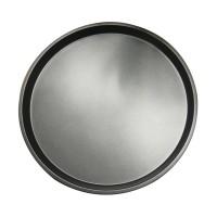 Tava rotunda pentru copt, otel, antiaderenta, gri, 29.5 x 2 cm