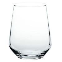 Pahar apa, Allegra 41536, din sticla, 425 ml, set 6 bucati