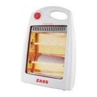 Radiator quartz Zass ZQH-02, 2 trepte, 800 W, 175 x 290 x 400 mm, oprire automata