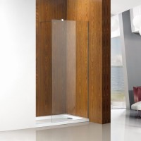 Perete dus tip walk - in, sticla, West PW80WST07, 80 x 200 cm