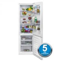 Combina frigorifica Beko RCSA400K20DW, 377 l, clasa A+, inaltime 201 cm, dozator apa, alb