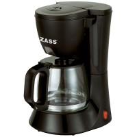 Cafetiera Zass ZCM 02, 600 W, 0.6 l, capacitate 6 cesti, functie antipicurare, functie de mentinere cald, negru