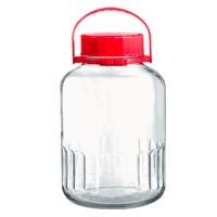 Borcan Harvest 80005, 3 litri, capac inclus, sticla, transparent