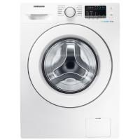 Masina de spalat rufe slim Samsung WW60J4060LW/LE, 6 kg, 1000 rpm, clasa A+++, adancime 45 cm, tehnologie Eco Bubble, alba