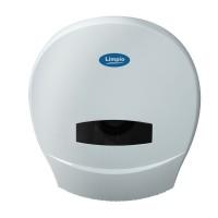 Dispenser hartie igienica Jumbo Limpio DP 1100JW2, plastic ABS, alb lucios, 26 x 13 cm