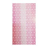 Covoras baie Aquamat, model geometric, roz, 65 cm