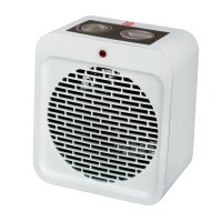 Aeroterma electrica Zass ZFH 04, 2 trepte, 2 kW, 400 x 400 x 200 mm, termostat reglabil, functie ventilatie