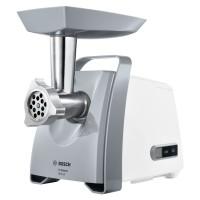 Masina de tocat carnea, electrica, Bosch ProPower MFW45020, functie Reverse, 2.7 kg/min, 1600 W, alb + gri
