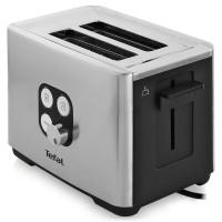 Prajitor de paine Tefal TT420D30, 900 W, 2 felii, functie decongelare, functie reincalzire, functie rumenire, 7 trepte putere, gri + negru