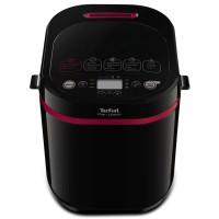 Masina de paine Tefal PF220838, 1 kg, 17 programe, afisaj LCD, neagra