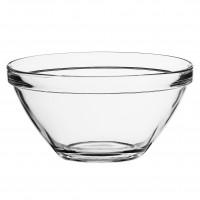Bol pentru servirea mesei Bormioli Pompei, suprapozabil, sticla, transparent, 12 x 6 cm
