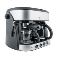 Espressor cafea Studio Casa Di Mattino SC425, cafea macinata, 15 bar, 1700 W, capacitate 1.25 l, negru + gri
