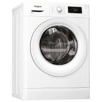 Masina de spalat rufe slim Whirlpool FWSG 71253W, 7 kg, 1200 rpm, clasa A+++, adancime 43.5 cm, FreshCare+, tehnologie al 6-lea Simt, alb