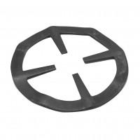 Suport pentru ochi aragaz, D361, metal, negru, D 13.5 cm