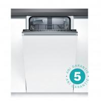 Masina de spalat vase incorporabila Bosch SPV25CX00E, 9 seturi, clasa A+, 5 programe, latime 45 cm