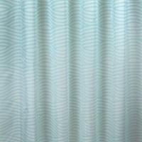 Perdea dus, Wave, verde,180 x 200 cm