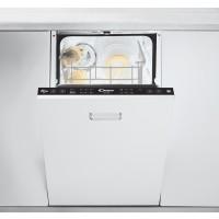 Masina de spalat vase incorporabila Candy CDI 1L949, 9 seturi, 7 programe, clasa A+, latime 45 cm