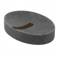Sapuniera Grey BPO-2013-3D, polirasina, gri