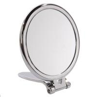 Oglinda cosmetica pentru baie, stativa, cromat, HPO-2041B-CH