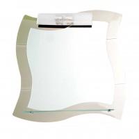 Oglinda baie Class Mirrors M15, 70 x 70 cm, 1 etajera