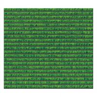 Covoras baie Friedola 79822.3, antiderapant, uni, verde, 65 cm
