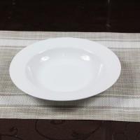 Farfurie adanca Super White, portelan, alb, 21.6 cm