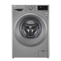 Masina de spalat rufe LG F4J5TN7S, 8 kg, 1400 rpm, clasa A+++, adancime 60 cm, tehnologie 6 Motion Direct Drive, gri