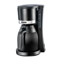 Cafetiera Zass ZCM 11, 800 W, 1 l, capacitate 6 - 8 cesti, functie antipicurare, functie de mentinere cald, neagra