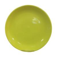 Farfurie desert 3070, ceramica, verde, 20 cm