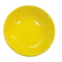 Farfurie adanca 2345, ceramica, galben, 21 cm