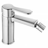 Baterie baie pentru bideu, Kadda Clover MY1708-9 CR, ventil inclus, monocomanda, finisaj cromat