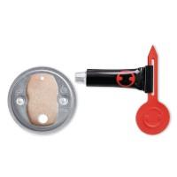 Kit adaptor de schimb BK20-1, tesa 40350, autoadeziv, inel zamac, 41 x 8 mm
