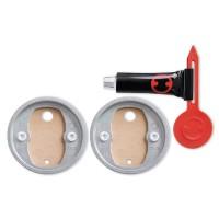 Kit adaptor de schimb BK20-2, tesa 40351, autoadeziv, inel zamac, 41 x 8 mm