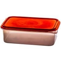 Cutie depozitare pentru alimente, Agora Plast, polipropilena, patrata, transparenta, 0.6 L