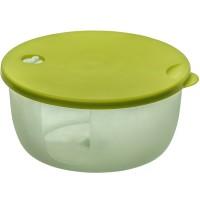 Cutie depozitare pentru alimente, Agora Plast, polipropilena, rotunda, transparenta, 2 L