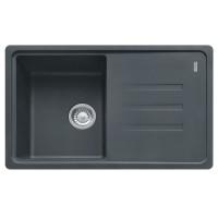Chiuveta bucatarie compozit fragranite Franke BSG 611-78 grafite neagra cuva stanga / dreapta 78 x 50 cm