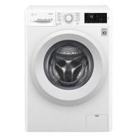 Masina de spalat rufe slim LG F0J5NY3W, 6 kg, 1000 rpm, clasa A+++, adancime 45 cm, tehnologie 6 Motion Direct Drive, alb