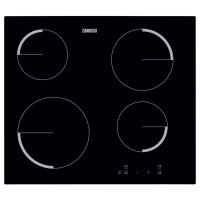 Plita electrica incorporabila vitroceramica Zanussi ZEV6240FBA, 4 zone de gatit, 6500 W, control touch, oprire automata, indicator caldura reziduala