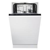Masina de spalat vase incorporabila Gorenje GV52010, 9 seturi, 5 programe, clasa A++, latime 45 cm