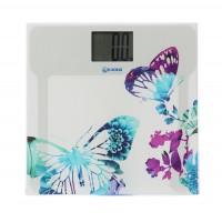 Cantar electronic pentru baie, Kadda E1624, sticla + ABS, LCD, 150 kg