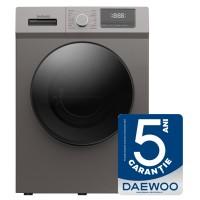 Masina de spalat rufe Daewoo DWD-8T1227P, 8.5 kg, 1200 rpm, clasa A+++, adancime 56 cm, Adauga haine, functie Start intarziat, curatare tambur