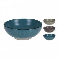 Bol pentru servirea mesei, Koopman J12000160, ceramica, diverse culori, 16.5 x 6.5 cm