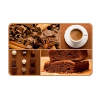 Suport bucatarie, pentru farfurii, Cocoa, din PVC, 25 x 40 cm