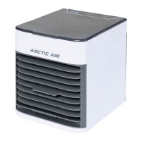 Ventilator de birou Rovus Arctic Air Ultra 110025148, 3 viteze, tehnologie hydro-chill, functie umidificare aer, functie oprire automata, alb