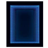 "Oglinda decorativa ""infinita"", Class Mirrors, cu LED multicolor, 70 x 74.8 cm"